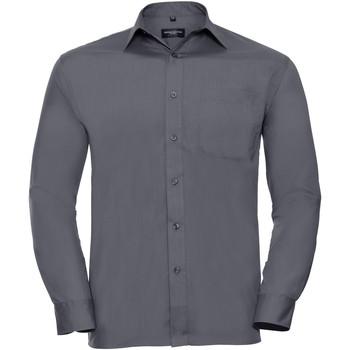 Abbigliamento Uomo Camicie maniche lunghe Russell 934M Grigio convoglio