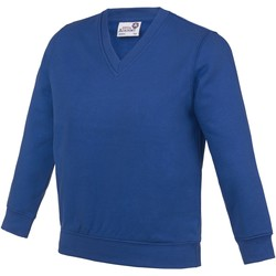 Abbigliamento Unisex bambino Felpe Awdis AC03J Blu Reale Scuro
