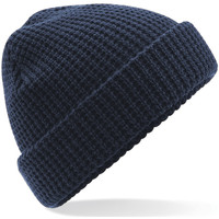 Accessori Berretti Beechfield Waffle Knit Navy