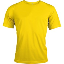 Abbigliamento Uomo T-shirt maniche corte Kariban Proact PA438 Giallo