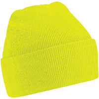 Accessori Berretti Beechfield Soft Feel Giallo fluorescente