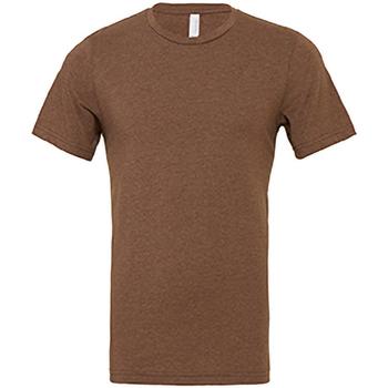 Abbigliamento Uomo T-shirt maniche corte Bella + Canvas CA3001 Marrone screziato