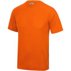 Abbigliamento Unisex bambino T-shirt maniche corte Awdis JC01J Arancio elettrico