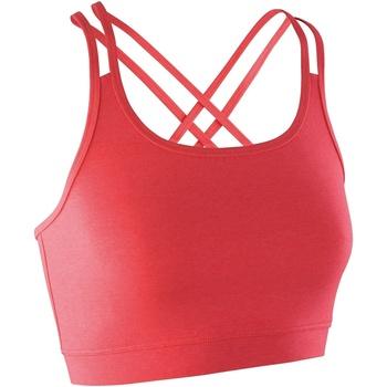 Abbigliamento Donna Reggiseno sportivo Spiro S274F Corallo