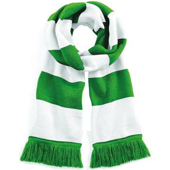 Accessori Donna Sciarpe Beechfield B479 Verde intenso/Bianco