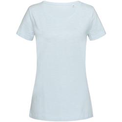 Abbigliamento Donna T-shirt maniche corte Stedman Stars Sharon Azzurro chiaro