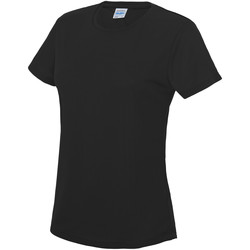 Abbigliamento Donna T-shirt maniche corte Awdis JC005 Nero