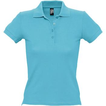 Abbigliamento Donna Polo maniche corte Sols 11310 Atollo