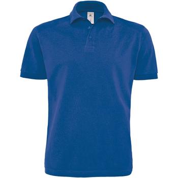 Abbigliamento Uomo Polo maniche corte B And C PU422 Blu reale