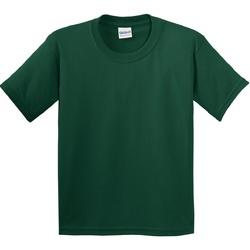Abbigliamento Unisex bambino T-shirt maniche corte Gildan 5000B Verde foresta