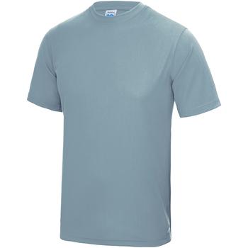 Abbigliamento Unisex bambino T-shirt maniche corte Awdis JC01J Azzurro cielo