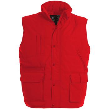 Abbigliamento Uomo Gilet / Cardigan B And C Explorer Rosso