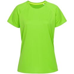 Abbigliamento Donna T-shirt maniche corte Stedman  Verde Kiwi
