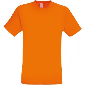 Abbigliamento Uomo T-shirt maniche corte Universal Textiles 61082 Arancione brillante