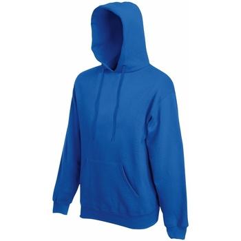 Abbigliamento Uomo Felpe Fruit Of The Loom 62208 Blu reale
