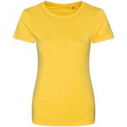 Abbigliamento Donna T-shirt maniche corte Ecologie EA01F Giallo sole