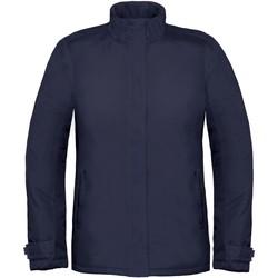 Abbigliamento Donna giacca a vento B And C Real+ Blu navy