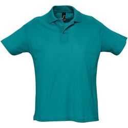 Abbigliamento Uomo Polo maniche corte Sols Summer II Azzurrino anatra