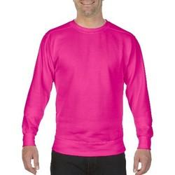 Abbigliamento Uomo Felpe Comfort Colors CO040 Rosa neon