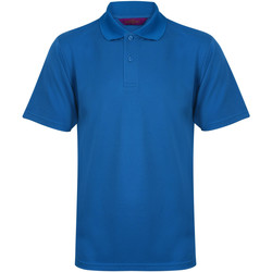 Abbigliamento Uomo Polo maniche corte Henbury HB475 Blu medio