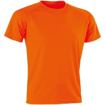Abbigliamento Uomo T-shirt maniche corte Spiro Aircool Arancione fluo