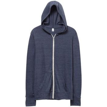 Abbigliamento Uomo Felpe Alternative Apparel AT002 Blu navy eco
