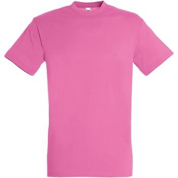 Abbigliamento Uomo T-shirt maniche corte Sols 11380 Rosa Orchidea
