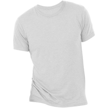Abbigliamento Uomo T-shirt maniche corte Bella + Canvas CA3413 Bianco Opaco