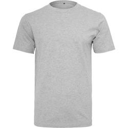 Abbigliamento Uomo T-shirt maniche corte Build Your Brand BY004 Erica grigia
