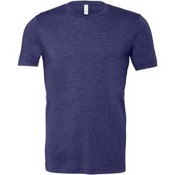 Abbigliamento Uomo T-shirt maniche corte Bella + Canvas CA3001 Blu Notte screziato