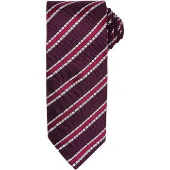 Abbigliamento Uomo Cravatte e accessori Premier  Bordeaux/Melanzana