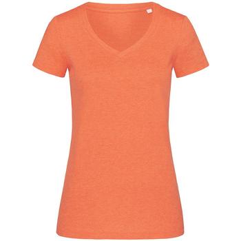 Abbigliamento Donna T-shirt maniche corte Stedman Stars  Arancione screziato
