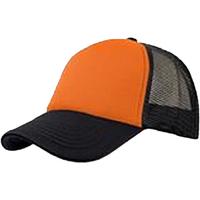 Accessori Cappellini Atlantis  Arancione/Nero