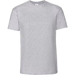 Abbigliamento Uomo T-shirt maniche corte Fruit Of The Loom 61422 Grigio screziato