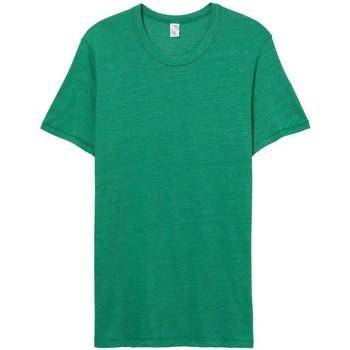 Abbigliamento Uomo T-shirt maniche corte Alternative Apparel AT001 Verde brillante Eco