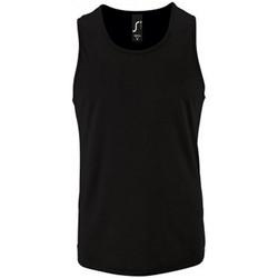 Abbigliamento Uomo Top / T-shirt senza maniche Sols 2073 Nero