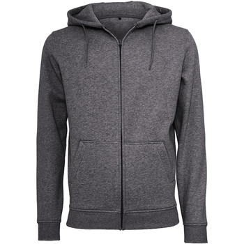 Abbigliamento Uomo Felpe Build Your Brand BY012 Carbone