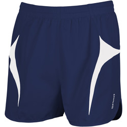 Abbigliamento Uomo Shorts / Bermuda Spiro S183X Blu navy/Bianco