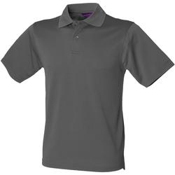 Abbigliamento Uomo Polo maniche corte Henbury HB475 Carbone