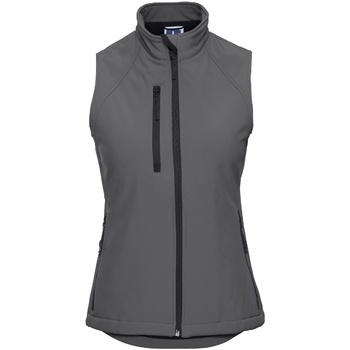Abbigliamento Donna Gilet / Cardigan Russell R141F Titanio