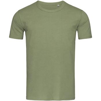Abbigliamento Uomo T-shirt maniche corte Stedman Stars Morgan Verde militare