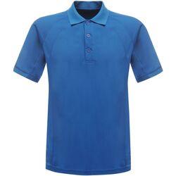 Abbigliamento Uomo Polo maniche corte Regatta Coolweave Blu Oxford