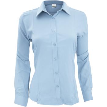 Abbigliamento Donna Camicie Henbury Wicking Azzurro