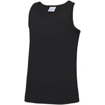 Abbigliamento Unisex bambino Top / T-shirt senza maniche Awdis JC007B Nero
