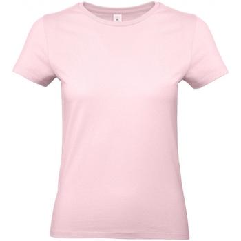 Abbigliamento Donna T-shirt maniche corte B And C E190 Rosa orchidea