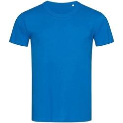 Abbigliamento Uomo T-shirt maniche corte Stedman Stars Stars Blu reale