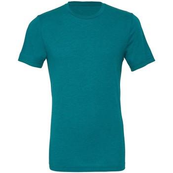 Abbigliamento Uomo T-shirt maniche corte Bella + Canvas CA3413 Foglia di Tè