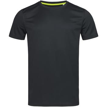 Abbigliamento Uomo T-shirt maniche corte Stedman Mesh Nero