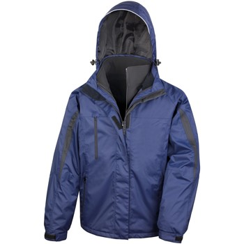 Abbigliamento Uomo giacca a vento Result R400M Blu Navy/Nero