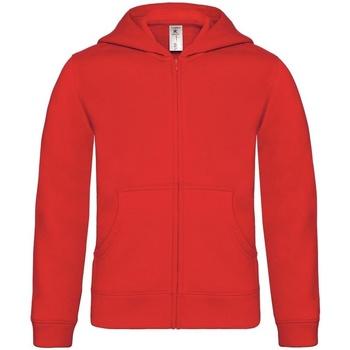 Abbigliamento Unisex bambino Felpe B And C B421B Rosso